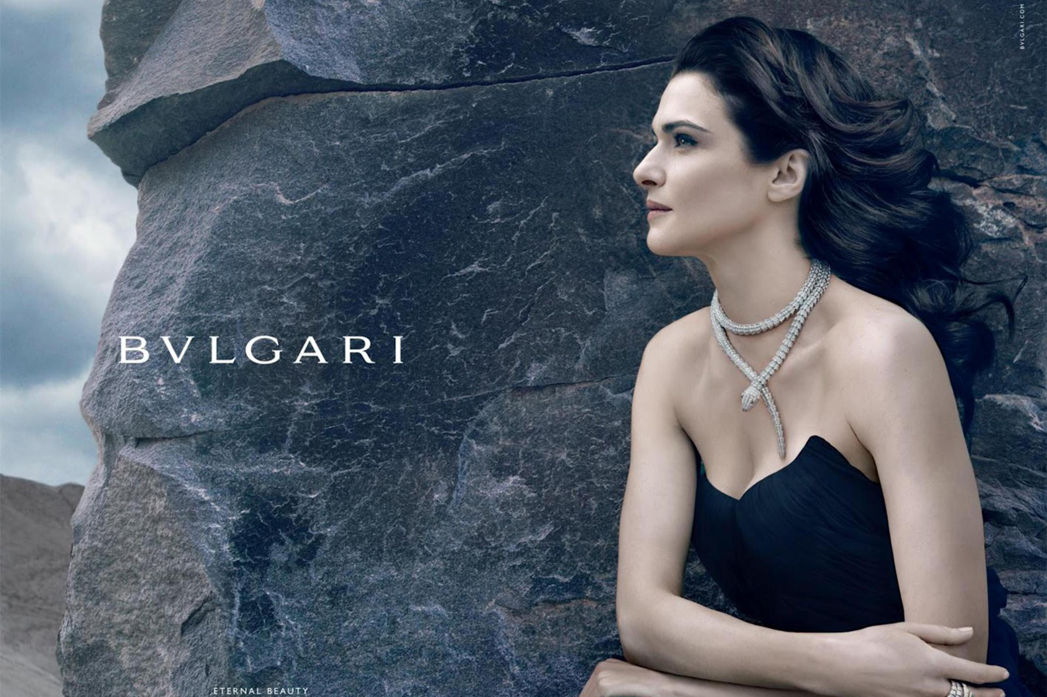 Реклама бренда Bvlgari