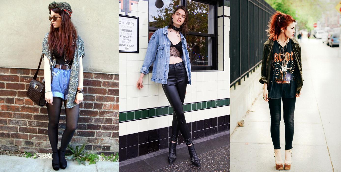 Фото: примеры одежды гранж