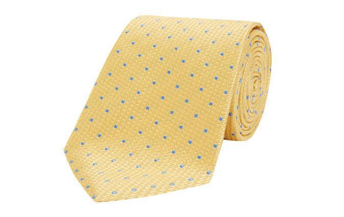 Шелковый галстук Turnbull & Asser
