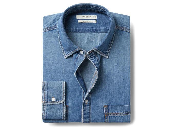 Регулярная рубашка средней длины