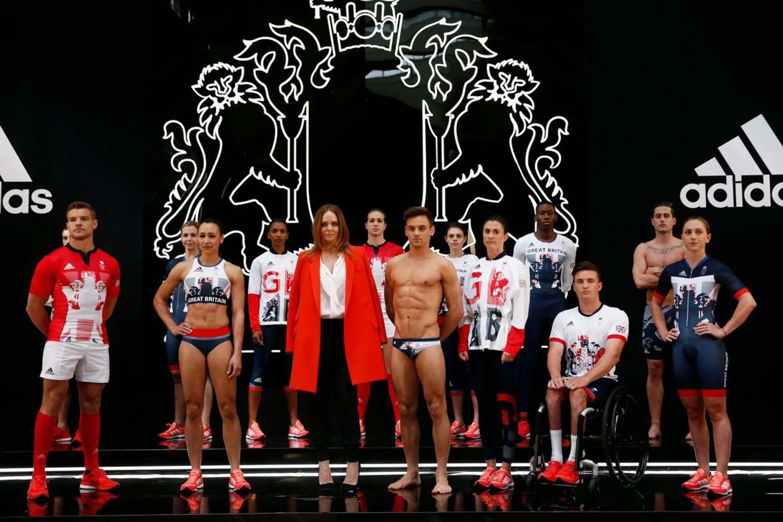 Линия одежды специально для спортивной команды Великобритании
