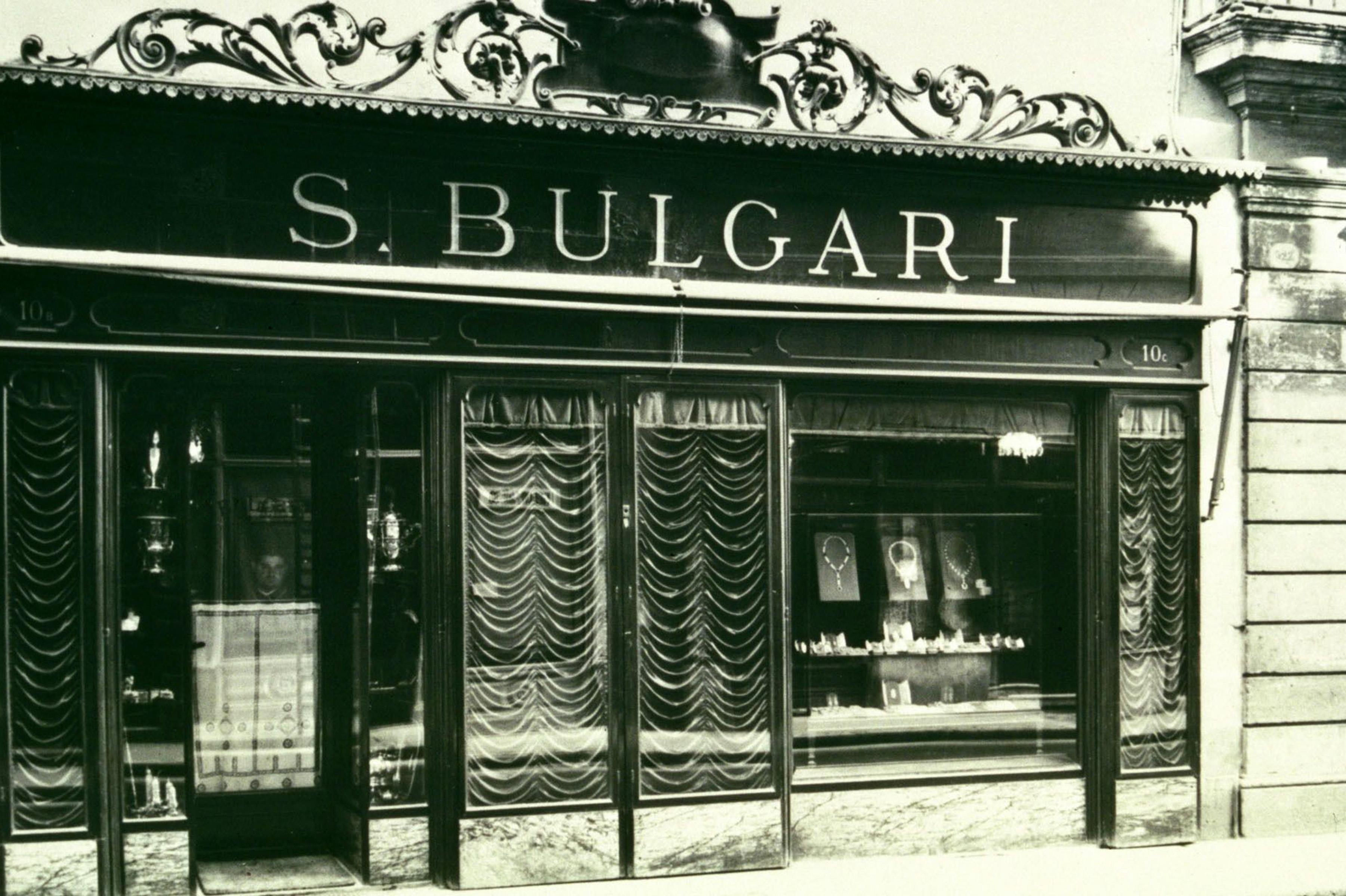 В 1884 году в Риме был открыт первый магазин бренда