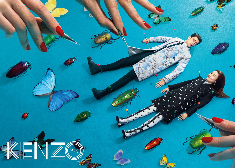 Рекламная компания Kenzo