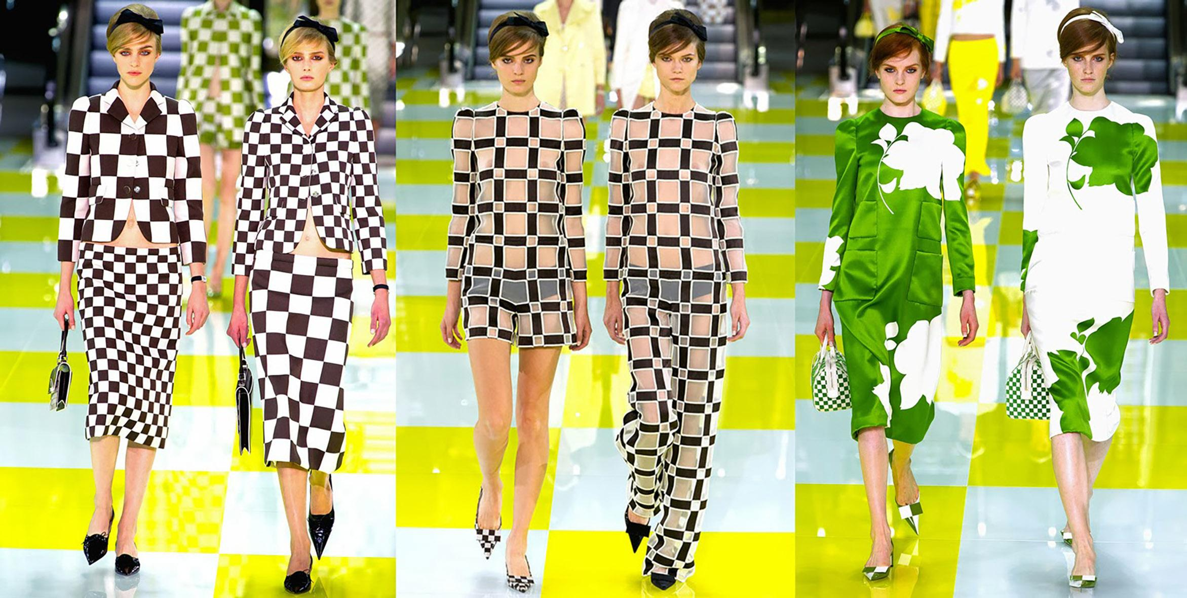 Женская коллекция одежды 2013 Louis Vuitton