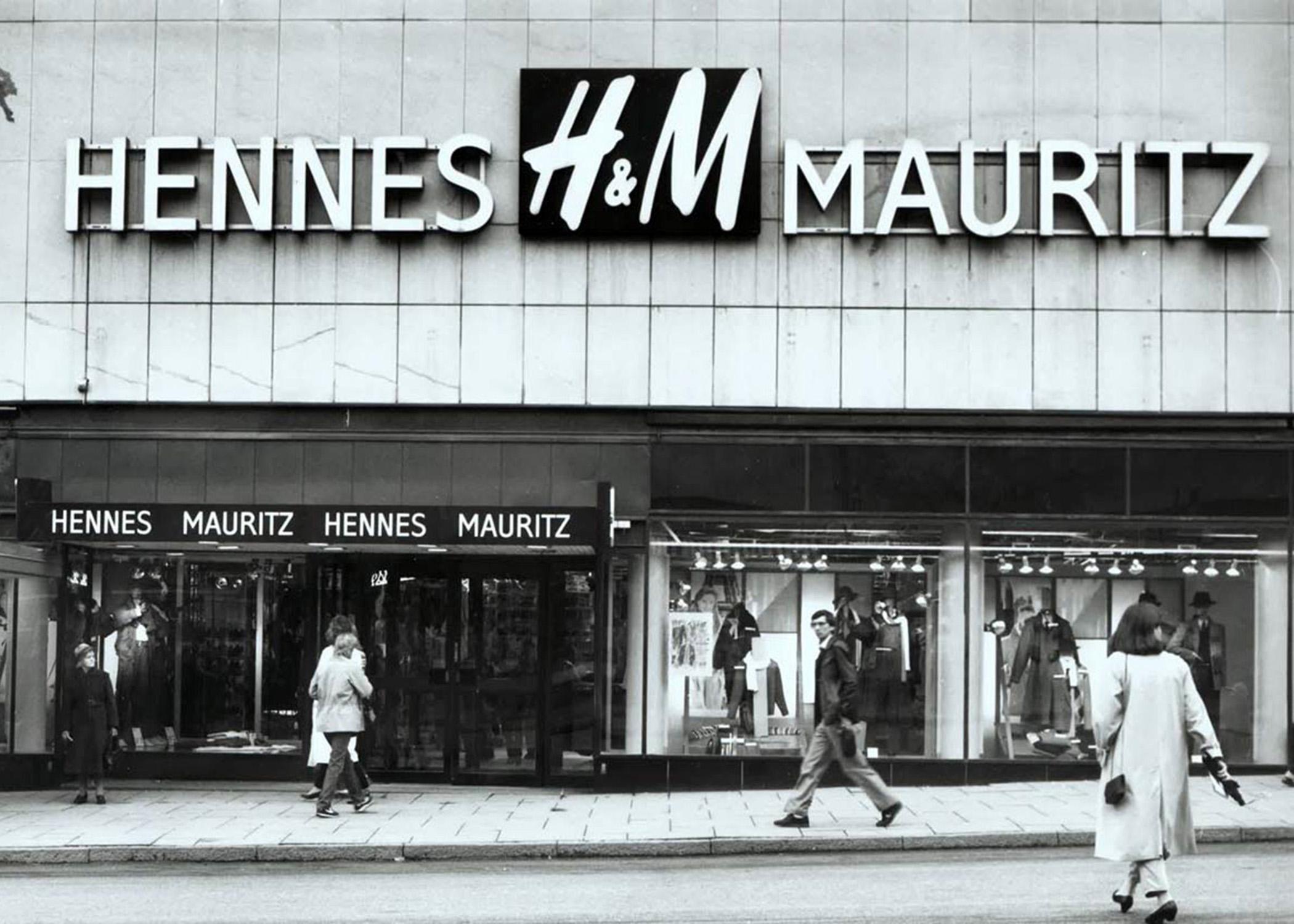 Магазин Hennes&Mauritz